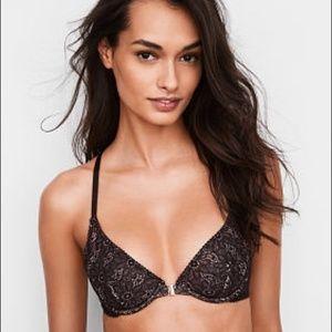 🔥3/30$ Victoria Secret Unlined Wicked Lace Bra